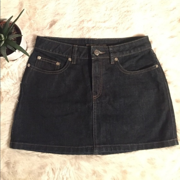 c62acc613 Marc By Marc Jacobs Skirts | Marc Jacobs Denim Mini Skirt Dark Wash ...